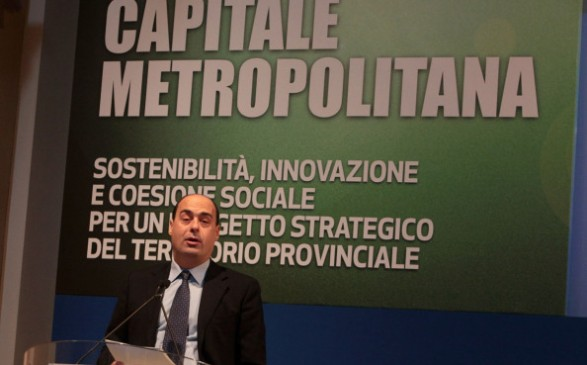 area metropolitana roma nicola zingaretti