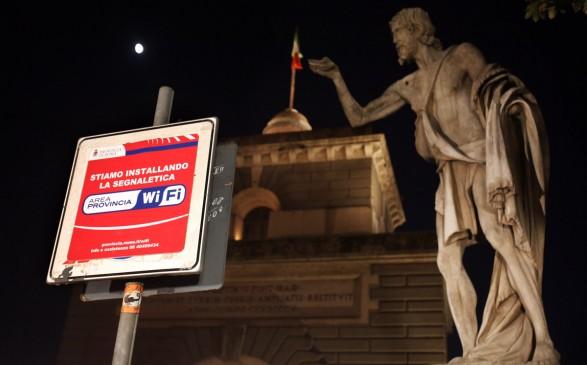 cresce provincia wi-fi per internet gratuito a roma
