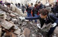dopo il terremoto all'Aquila