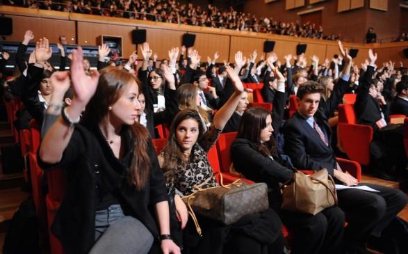 parlamento europeo studenti
