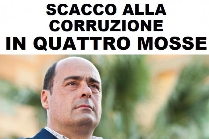 scacco corruzione in quattro mosse