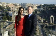 Bond 24 film shooting in Rome, Italy