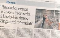 Lazio export