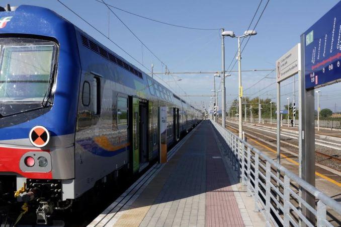 foto treno latina reg.