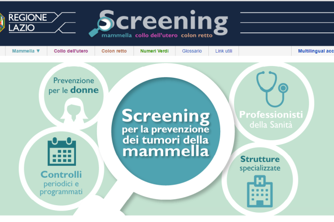 screening tumore mammella