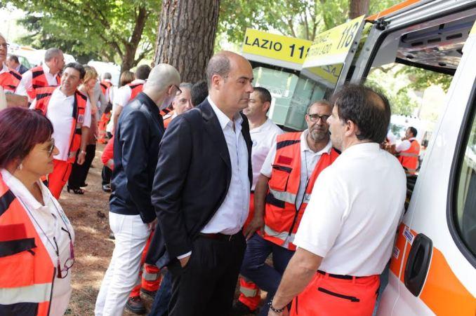 consegna prime venti nuove ambulanze reg.