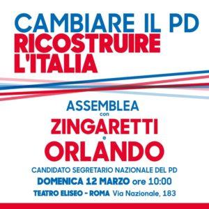Cambaire il Pd, Ricostruire l'Italia