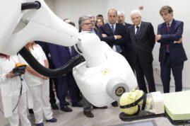 inaugurazione nuovo macchinario ifo mattarella nz.