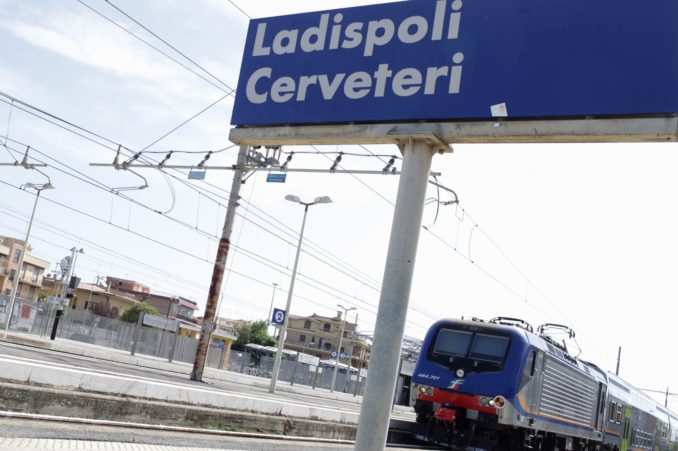 treno ladispoli