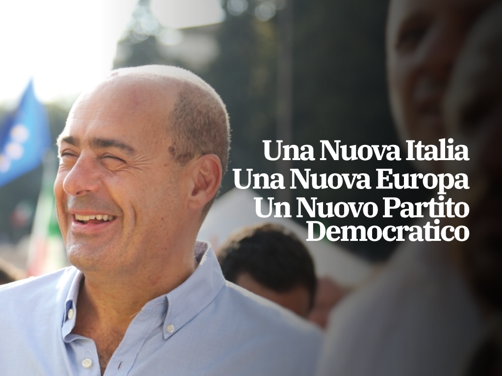 Una proposta per l'Italia. Prima le persone